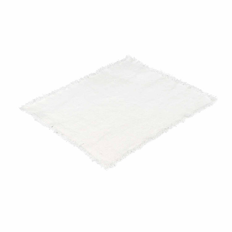 Linen Placemat Natural/White Eleish Van Breems Home