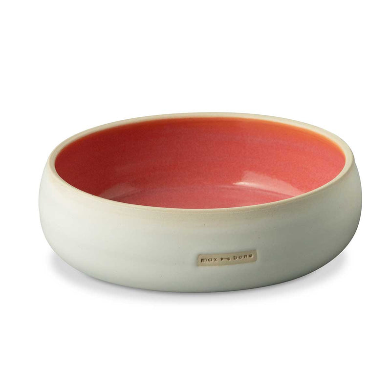 Marta Ceramic Dog Bowl Medium Eleish Van Breems Home