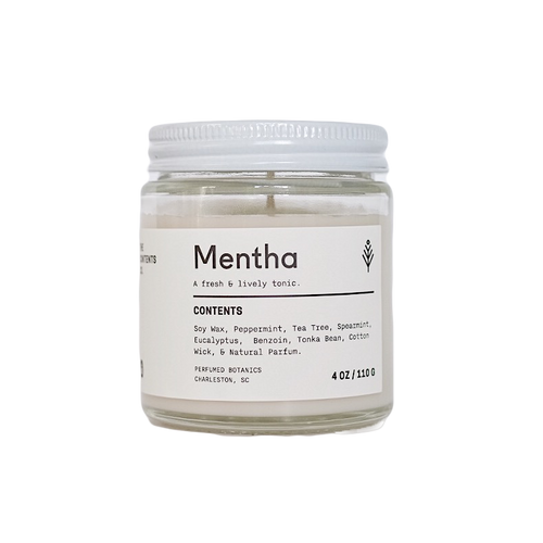 Mentha Botanical Candle 4 oz