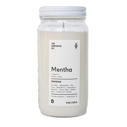 Mentha Botanical Candle 8 oz