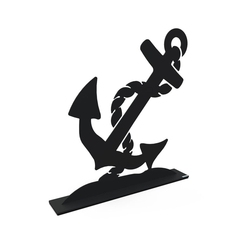 Metal Anchor Sculpture Medium