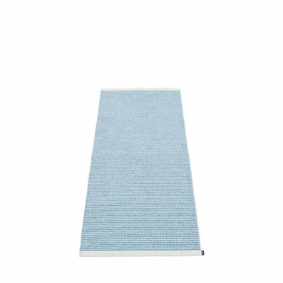 Mono Runner 2' x 5' Misty Blue/Ice Blue Eleish Van Breems Home