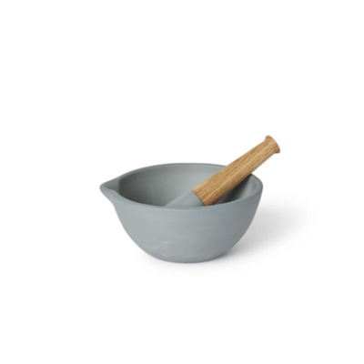Mortar & Pestle-Steel-Eleish Van Breems Home