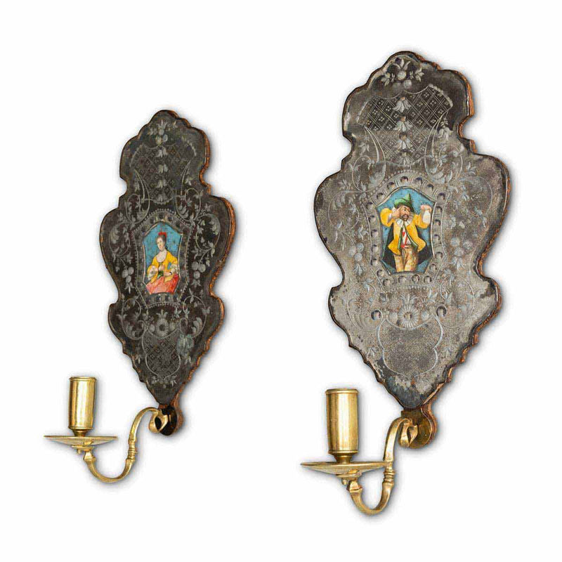 Pair of Baroque Wall Sconces