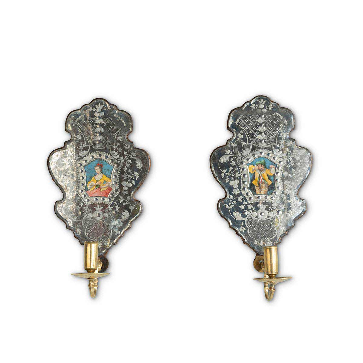 Pair of Baroque Wall Sconces Eleish Van Breems Home