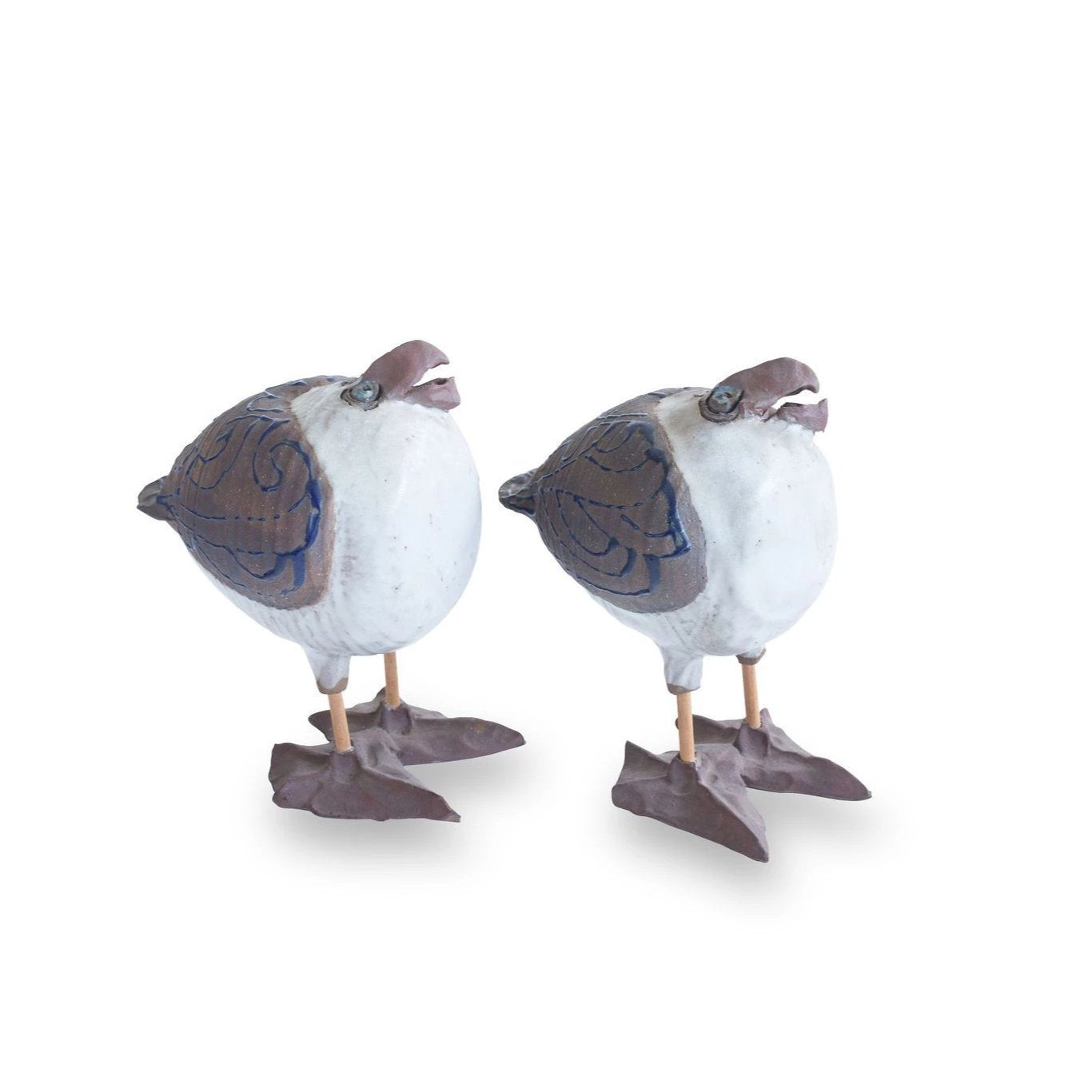 Pair of Vintage Ceramic Seagulls