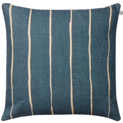 Palace Blue Nisha Linen Pillow