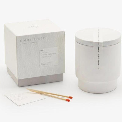 Pure White Candle-Eleish Van Breems Home