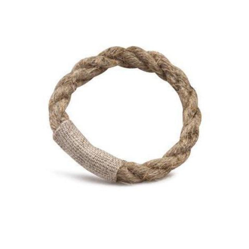 Rope Napkin Ring 4pc