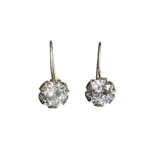 Slingback Tulip Cup Earrings 10 mm
