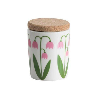 Small Canister with Cork Lid Eleish Van Breems Home