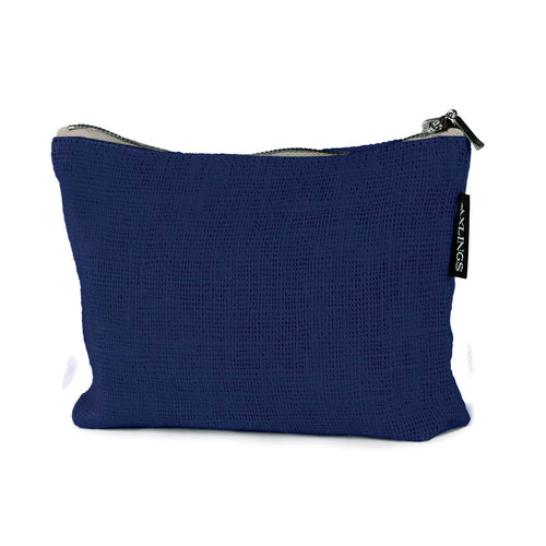 Small Linen Toiletry Bag