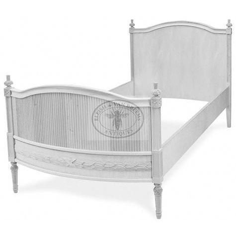 Sofia Gustavian Bed - High Headboard Eleish Van Breems Home
