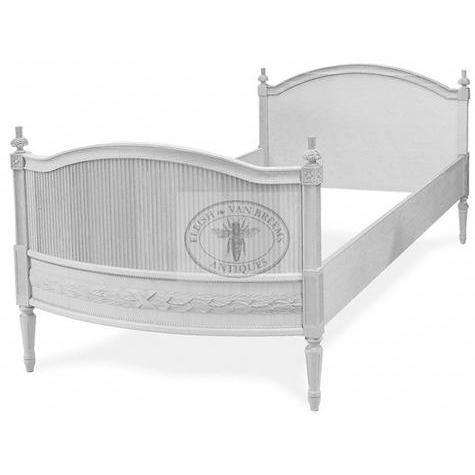 Sofia Gustavian Bed - Low Headboard Eleish Van Breems Home
