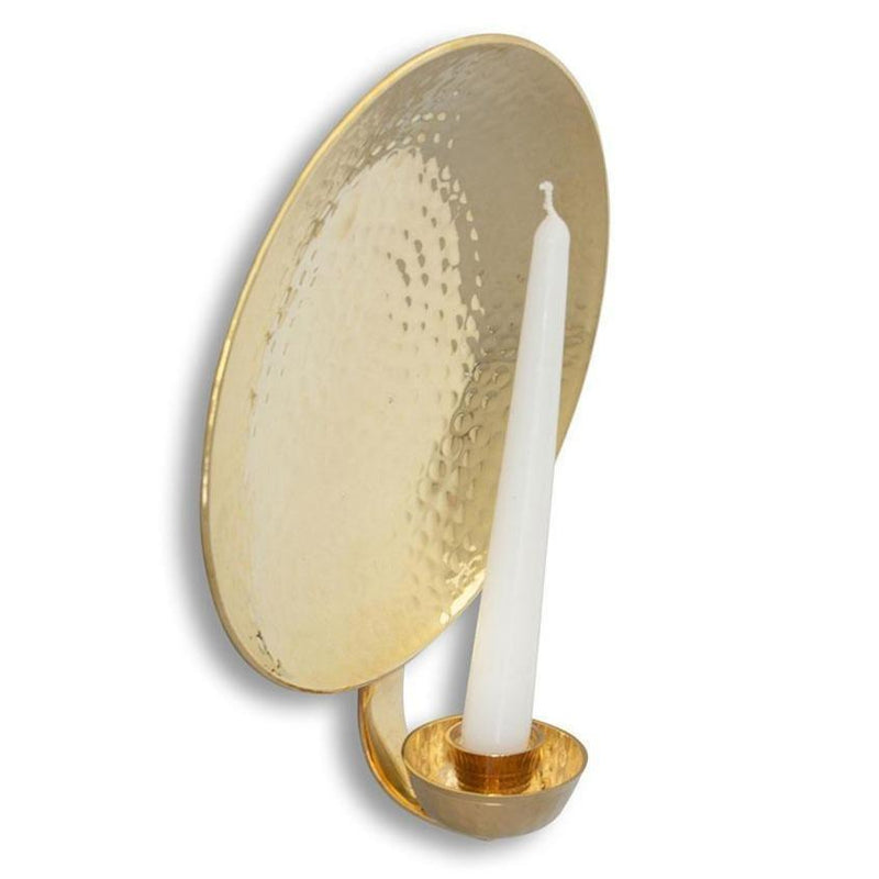 Solid Brass Wall Sconce Large-Eleish Van Breems Home