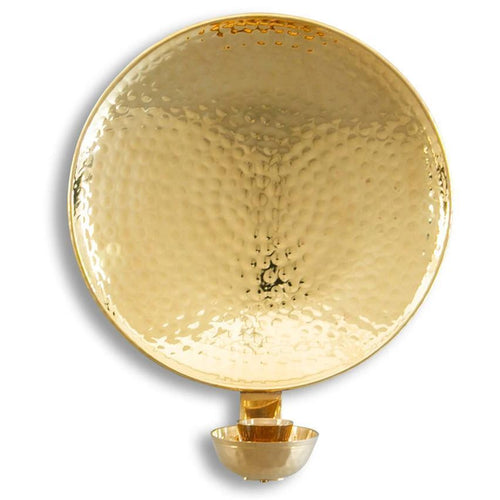 Solid Brass Wall Sconce Large