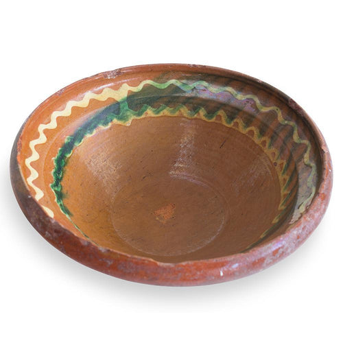 Swedish 18th century Terracotta Bowl