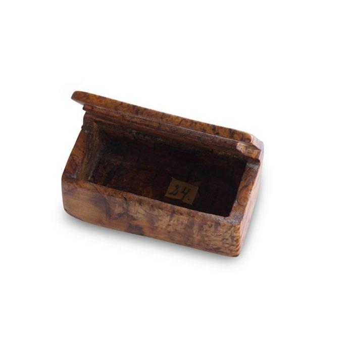 Swedish Alder Root Snuff Box  c. 1850