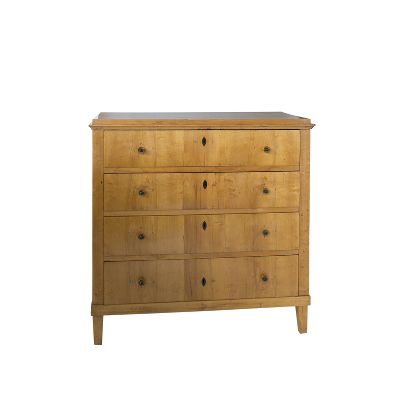 Swedish Biedermeier Chest with Desk-Eleish Van Breems Home