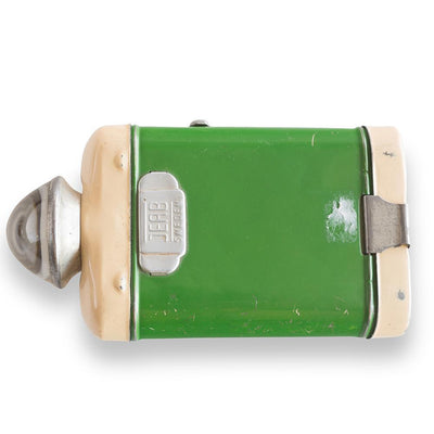 Swedish Green Tole Flashlight, Circa 1940 Eleish Van Breems Home