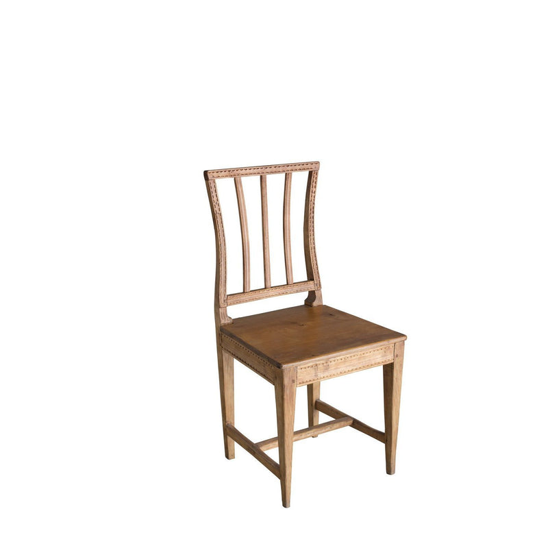 Swedish Gustavian Farm Chair, Circa 1810