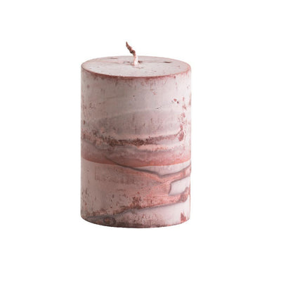Tar Pillar Candle Red Eleish Van Breems Home
