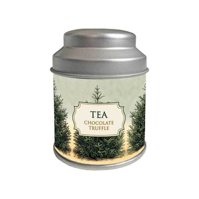 Tea in Holiday Gift Tin Fir Tree Tin Eleish Van Breems Home