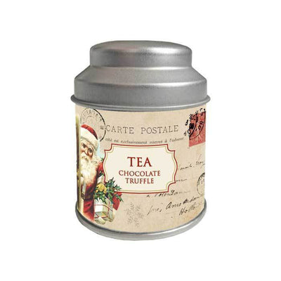 Tea in Holiday Gift Tin Holiday Postcard Tin Eleish Van Breems Home