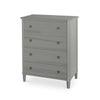 Tullgarn Tall Gustavian Four Drawer Chest Albert Park Eleish Van Breems Home