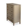 Tullgarn Tall Gustavian Four Drawer Chest Natural Eleish Van Breems Home