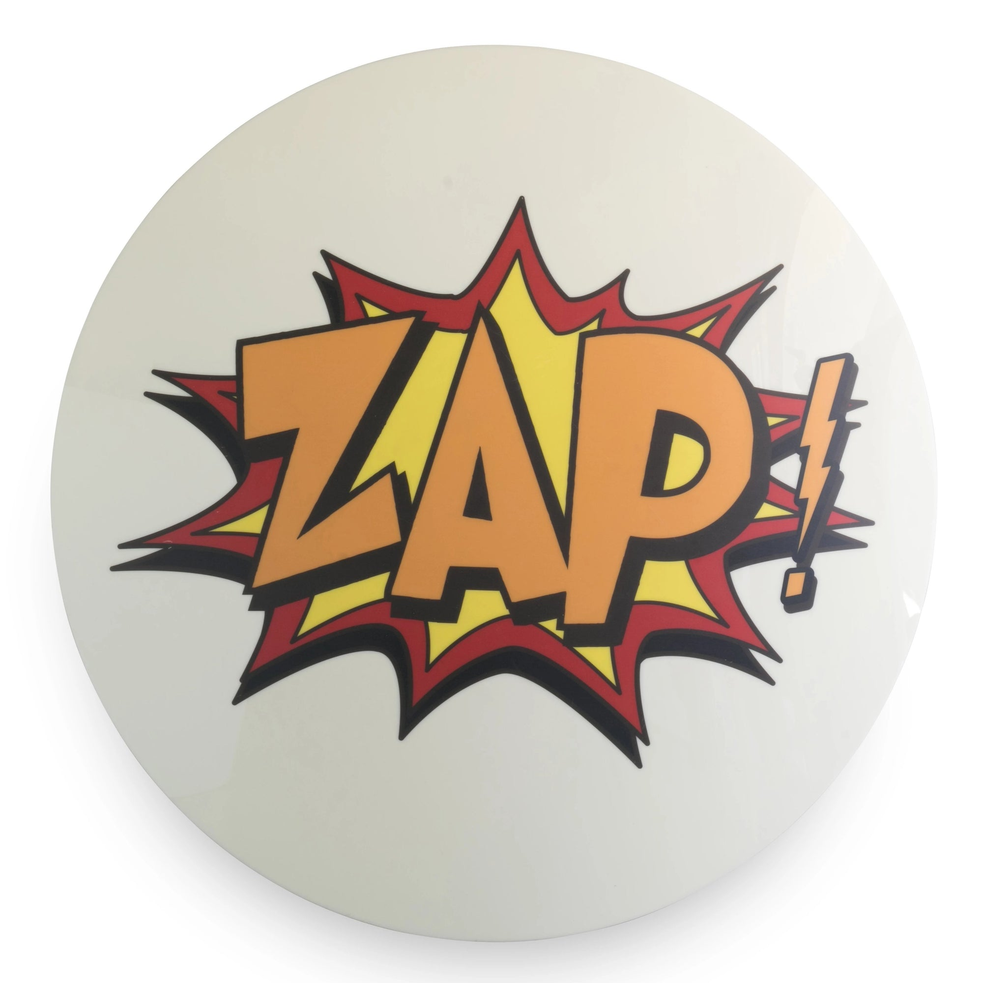 Vintage Marvel Comic Style ZAP Sign