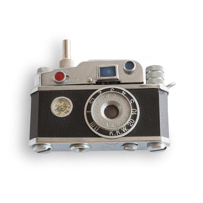 Vintage Novelty Camera Lighter, c. 1960 Eleish Van Breems Home