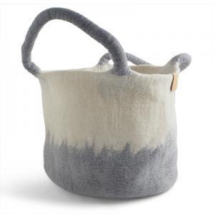 Wool Basket Concrete Eleish Van Breems Home