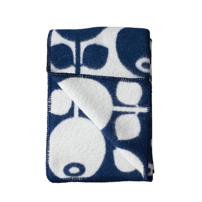 Wool Blanket Blueberry Eleish Van Breems Home