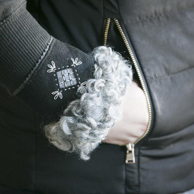 Wool Wrist Warmers Eleish Van Breems Home