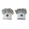 Wool Wrist Warmers Light Grey Band Eleish Van Breems Home