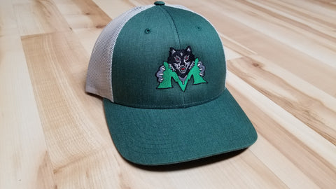 Midland Heather Green Embroidered Cap