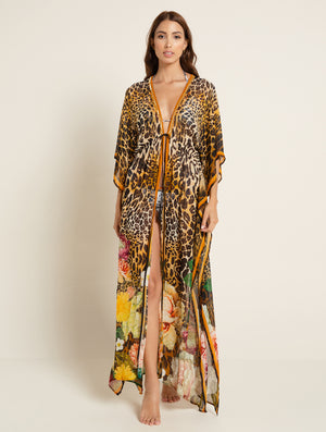 SAM MAKERA MAXI ROBE - Kaia London