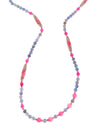 IRIS PINK MAXI NECKLACE - Kaia London