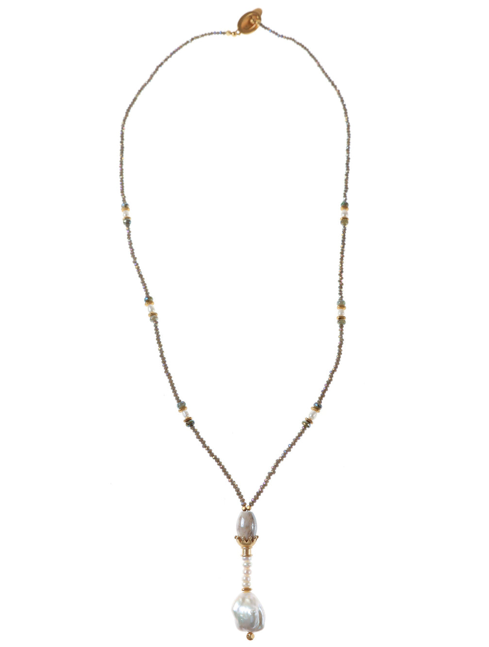 KANSAS CRYSTAL NECKLACE - Kaia London
