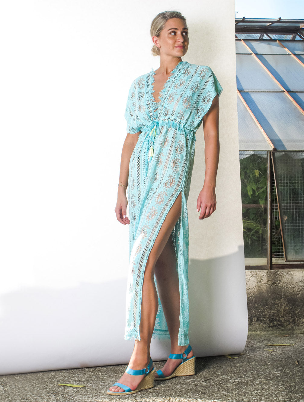 ROMEO OPEN KAFTAN - Kaia London