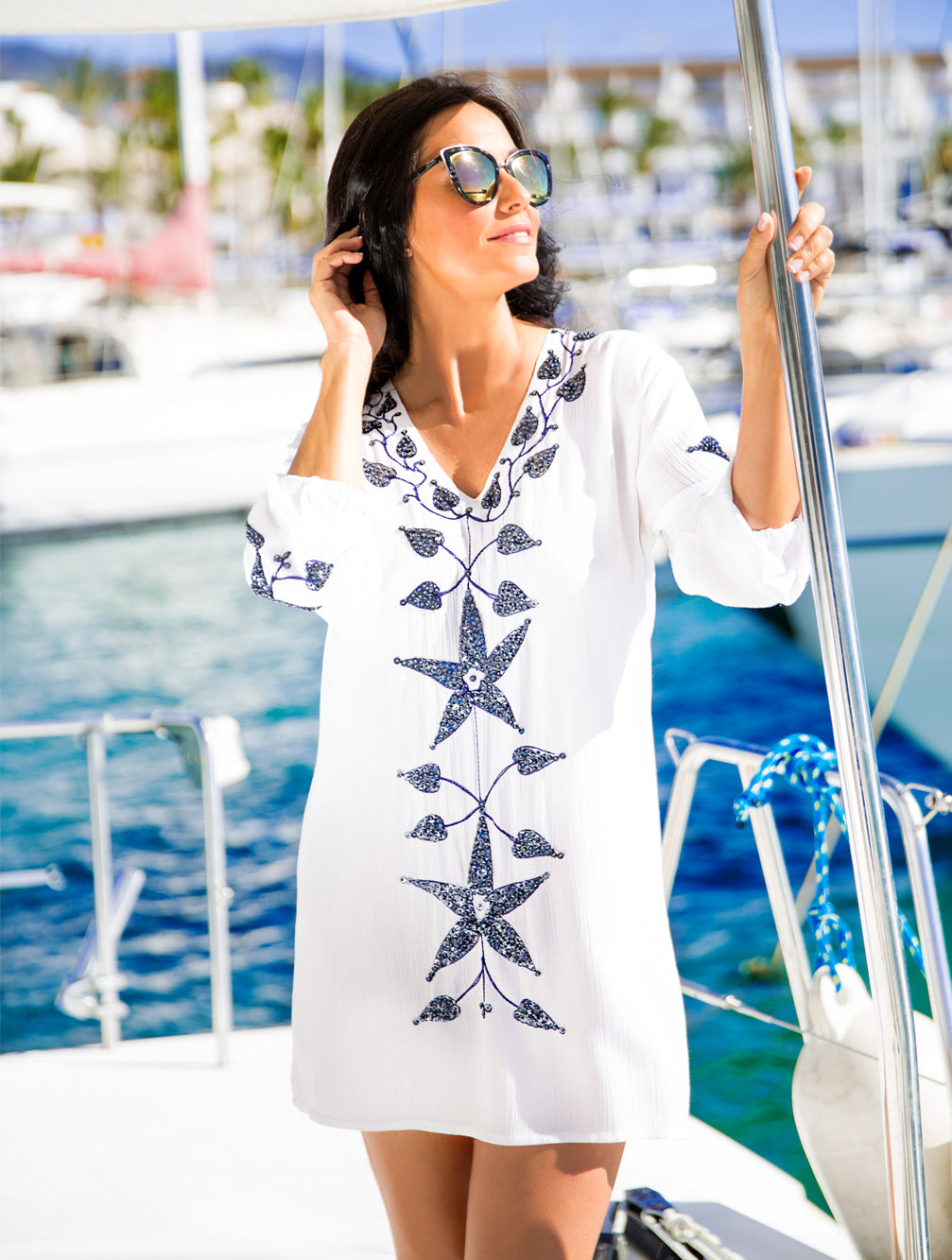 MONACO KAFTAN - Kaia London