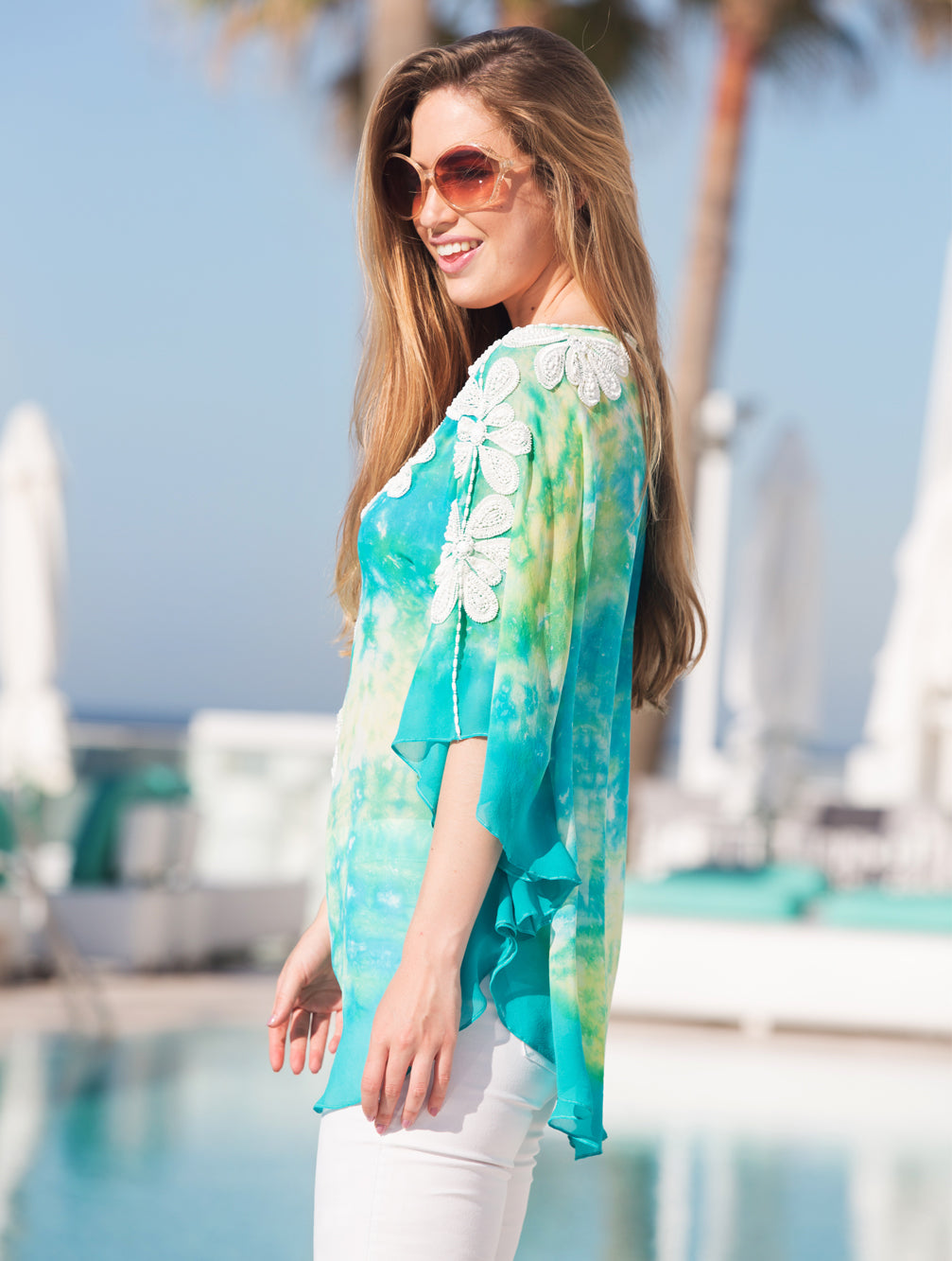 RUMBA KAFTAN TOP - Kaia London