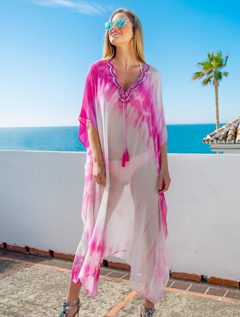 TOBAGO MAXI KAFTAN - Kaia London