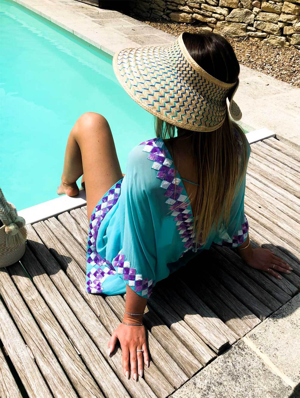 YOSUZI-Amina-Visor-woven-luxury-beachwear-resortwear-uk-kaia-london