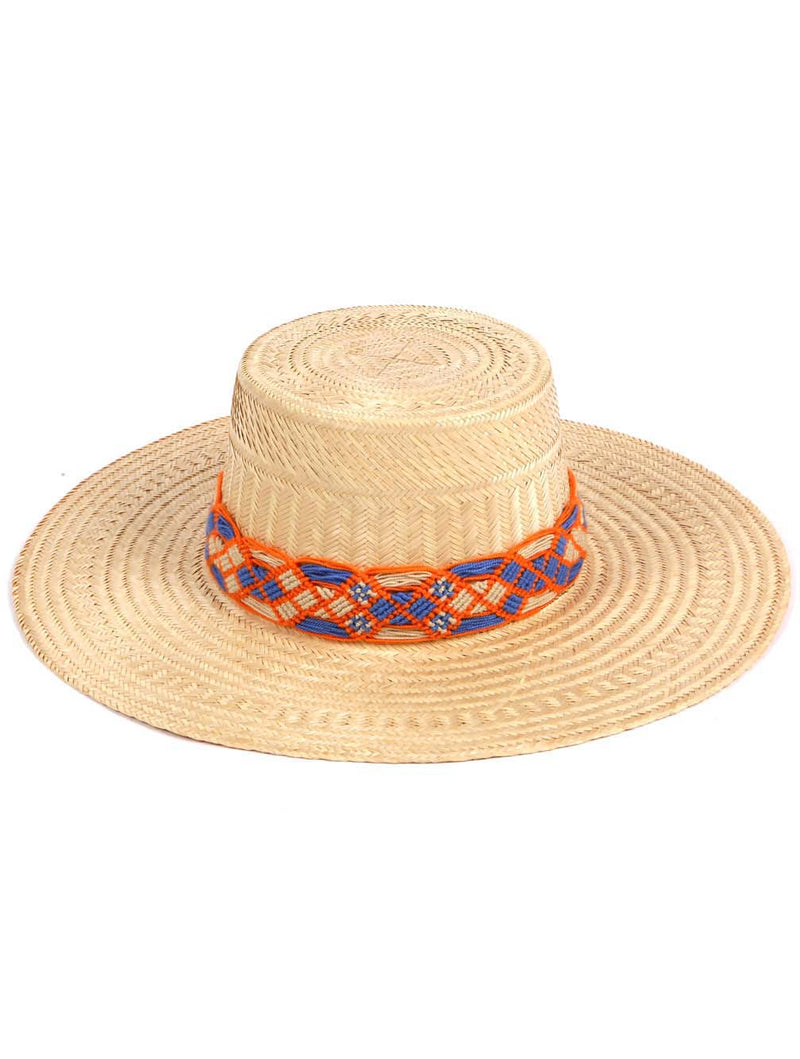 SAHARA LONG BRIM HAT - Kaia London