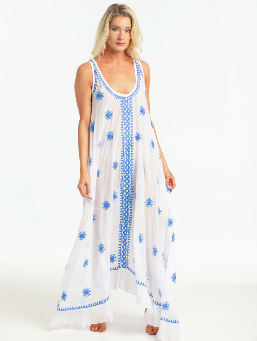 BEATRICE MAXI DRESS - Kaia London