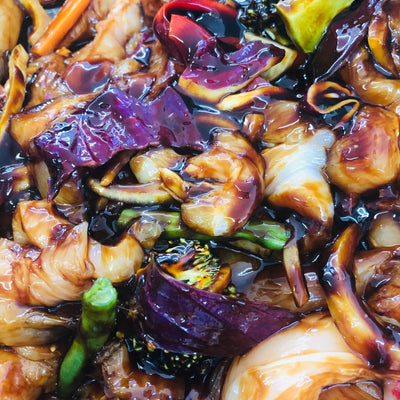 Chicken Stirfry in BBQ Plum (per kg)