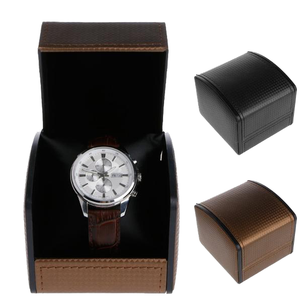 Moonbeam Faux Leather Watch Box