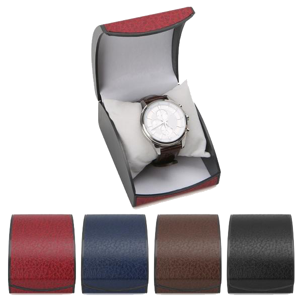 Topaz Leather Wristwatch Box
